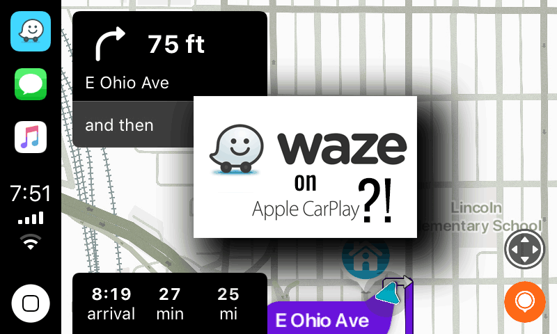 Maps vs. Waze