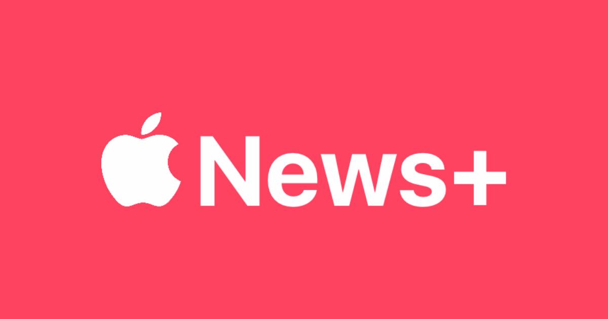 Apple News+ logo