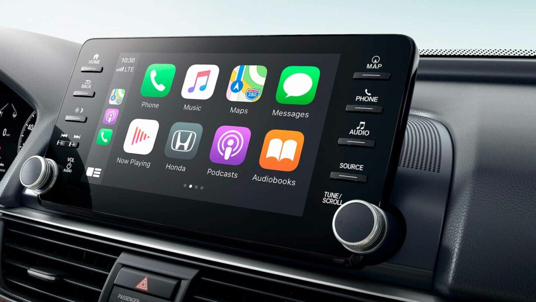 Honda Accord wireless CarPlay